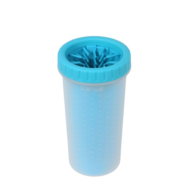 Dexas MudBuster Portable Blue Dog Paw Cleaner, Large - Carousel image #1