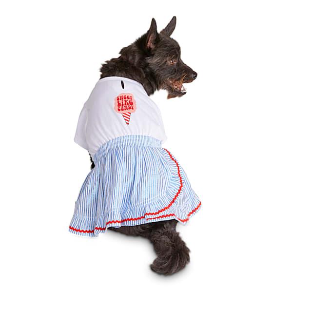 Bond & Co. Sweet Like Cotton Candy Dog Dress, X-Small - Carousel image #1