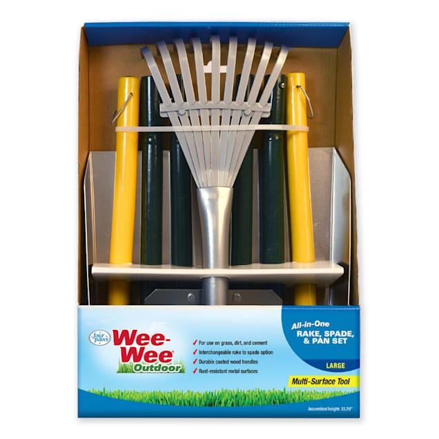 Wee-wee All-In-One Rake, Spade & Pan Set for Dogs, Large - Carousel image #1