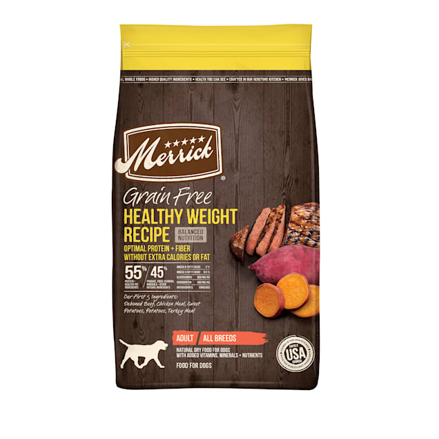 Merrick Grain Free Healthy Weight Recipe Dry Dog Food, 22 lbs. - Carousel image #1