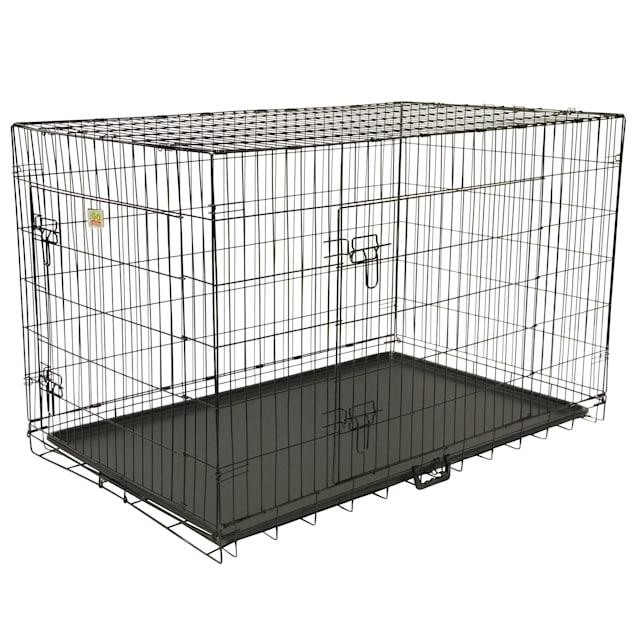 "Go Pet Club Foldable Metal Dog Crate, 24"" L X 18"" W X 20"" H - Carousel image #1"