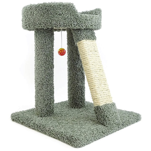 """New Cat Condos 1 Level Premier Green Elevated Cat Bed, 25"""" H - Carousel image #1"""