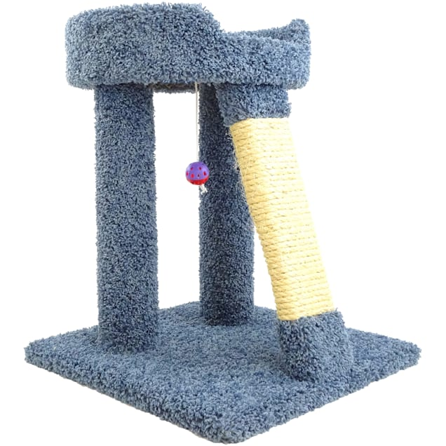 """New Cat Condos 1 Level Premier Blue Elevated Cat Bed, 25"""" H - Carousel image #1"""