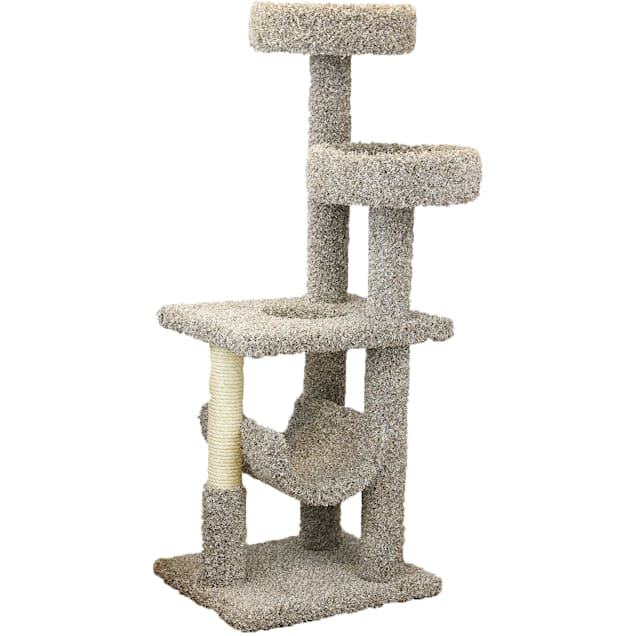 "New Cat Condos 4 Level Cat Play Gym, 61"" H - Carousel image #1"
