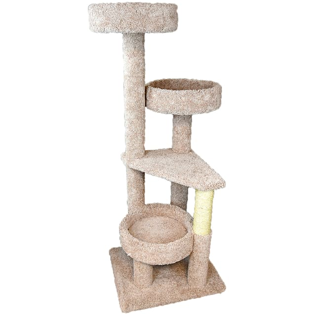 """New Cat Condos 4 Level Cat Lounger, 61"""" H - Carousel image #1"""