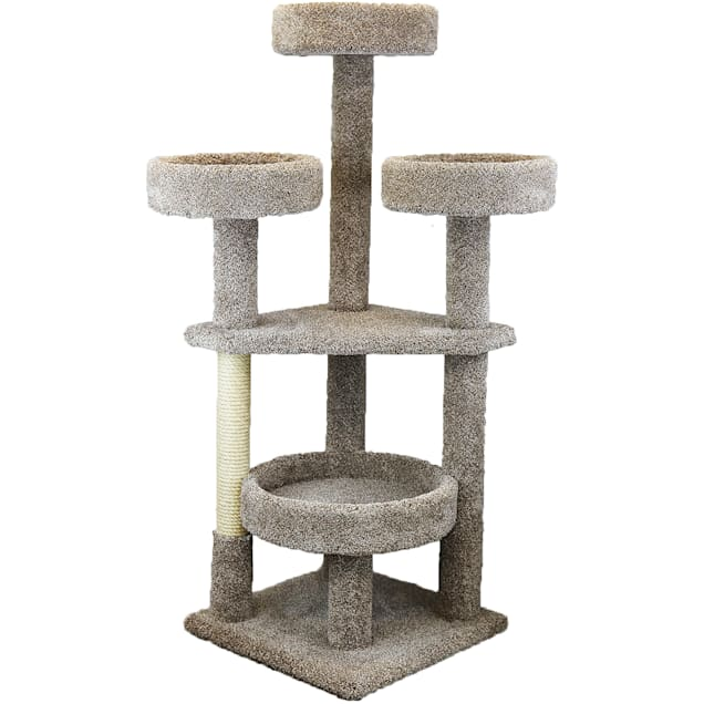 """Prestige Cat Trees 5 Level Main Coon Cat Tower, 65"""" H - Carousel image #1"""