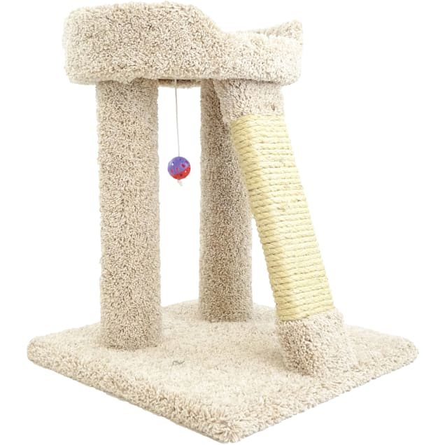 """New Cat Condos 1 Level Premier Tan Elevated Cat Bed, 25"""" H - Carousel image #1"""