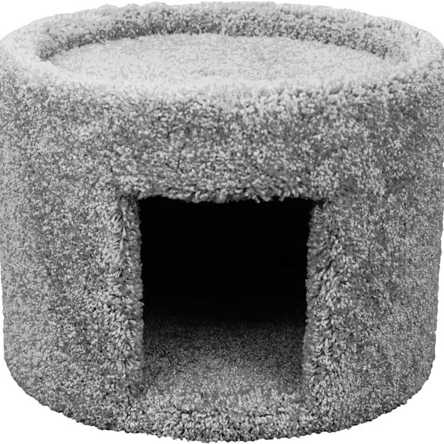 "New Cat Condos Premier Grey Cat Cave, 13"" H - Carousel image #1"