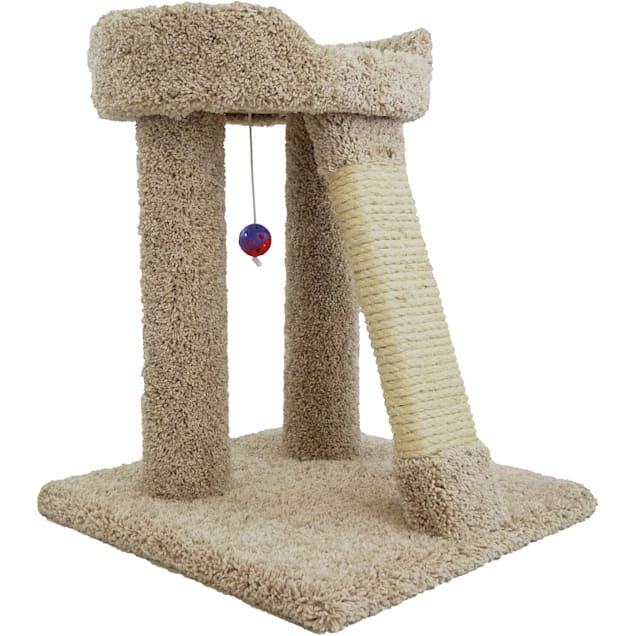 """New Cat Condos 1 Level Premier Brown Elevated Cat Bed, 25"""" H - Carousel image #1"""