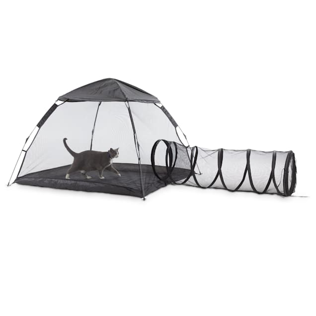"""EveryYay Come Out & Play Outdoor Cat Lounge with Tent, 63"""" L X 47.2"""" W X 47.2"""" H - Carousel image #1"""