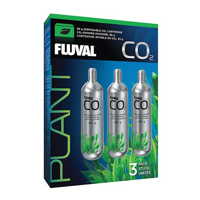Fluval Pressurized 3 Pack CO2 Disposable Cartridge, 95 Gram - Carousel image #1