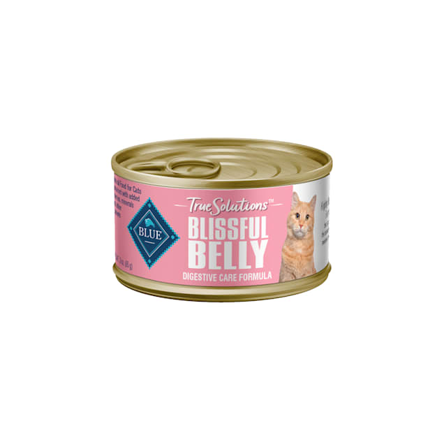 Blue Buffalo True Solutions Blissful Belly Chicken Recipe Natural Digestive Care Adult Wet Cat Food, 3 oz., Case of 24 - Carousel image #1