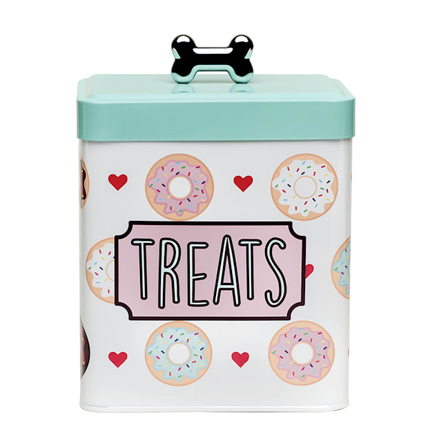 Amici Home Barkers Dozen Treats Canister for Pets - Carousel image #1