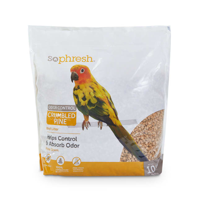 So Phresh Odor Control Crumbled Pine Bird Litter, 10 lbs. - Carousel image #1