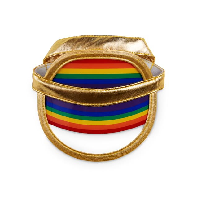 Bond & Co. Pride Rainbow Dog Visor, X-Small/Small - Carousel image #1