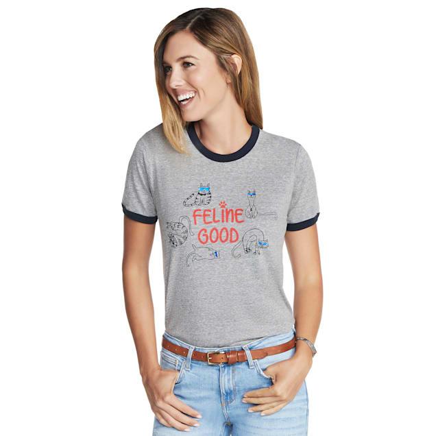 BOBS from Skechers Feline Good Women's T-Shirt, Small - Carousel image #1