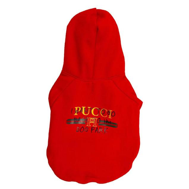 Fresh Pawz Pucci Dog Park Hoodie Clothing, Medium - Carousel image #1