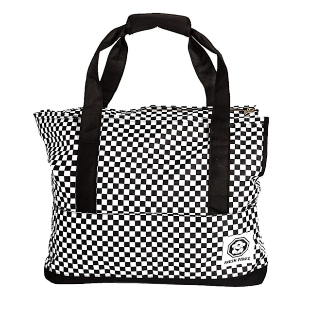 Fresh Pawz The Checkerboard Dog Carrier Bag - Carousel image #1