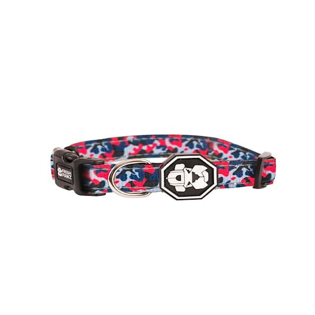 Fresh Pawz The Drip Camo Dog Collar, Small - Carousel image #1