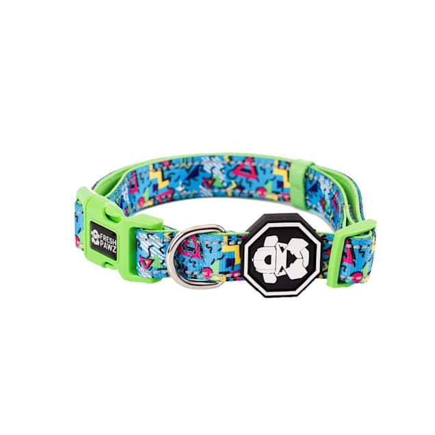 Fresh Pawz The 90's Throwback Dog Collar, Small - Carousel image #1