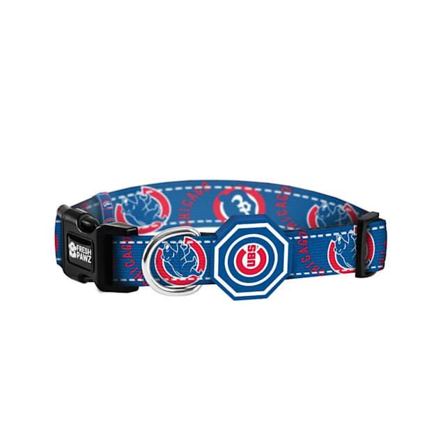 Fresh Pawz X MLB Chicago Cubs Dog Collar, Small - Carousel image #1