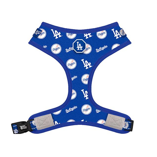 Fresh Pawz X MLB Los Angeles Dodgers Adjustable Mesh Dog Harness, Medium - Carousel image #1