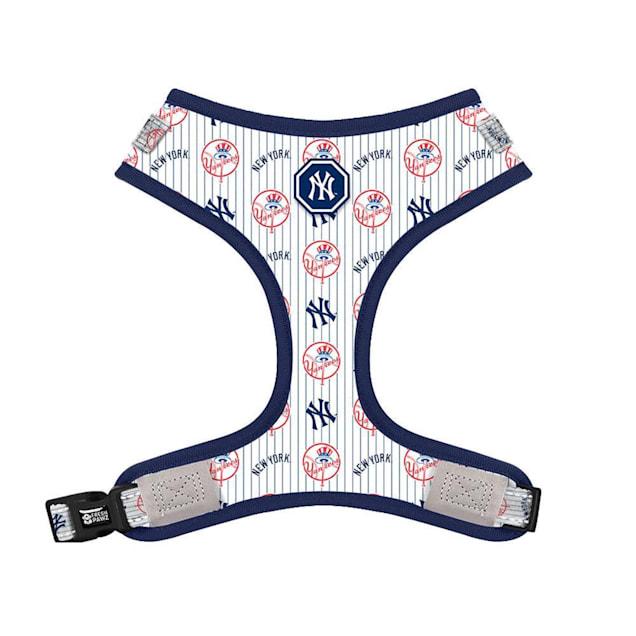Fresh Pawz X MLB New York Yankees Adjustable Mesh Dog Harness, X-Small - Carousel image #1