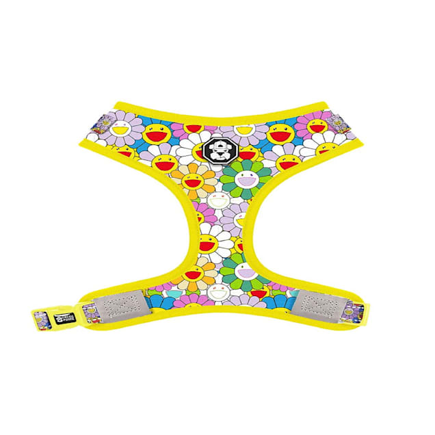 Fresh Pawz The Psychedelic Flowers Adjustable Mesh Dog Harness, X-Small - Carousel image #1