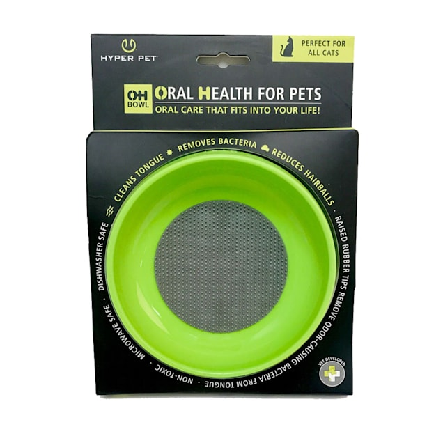 Hyper Pet OHBowl Green Bowl for Cats, Small - Carousel image #1