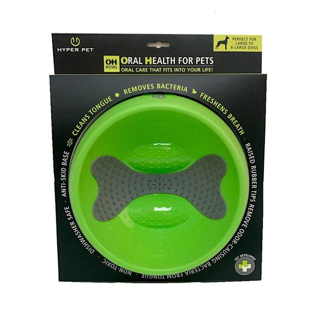 Hyper Pet OHBowl Green Dog Bowl, Large - Carousel image #1