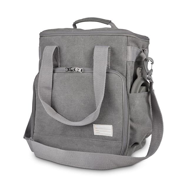 Reddy Grey Canvas Weekender Bag, Medium - Carousel image #1
