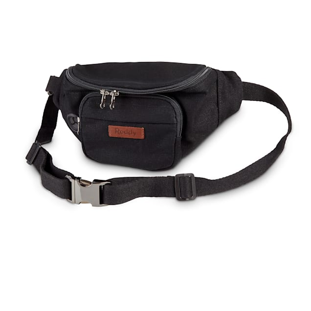 Reddy Black Canvas Belt Bag, Medium - Carousel image #1