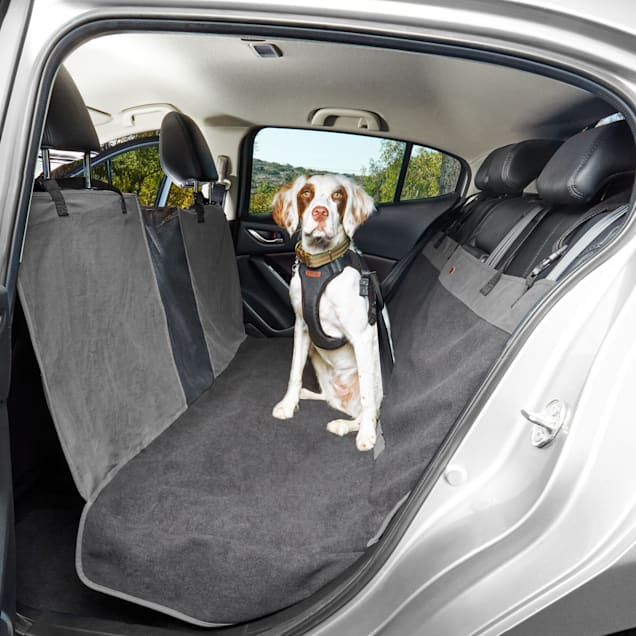 "Reddy Grey Pet Car Hammock, 65"" L X 20"" W - Carousel image #1"