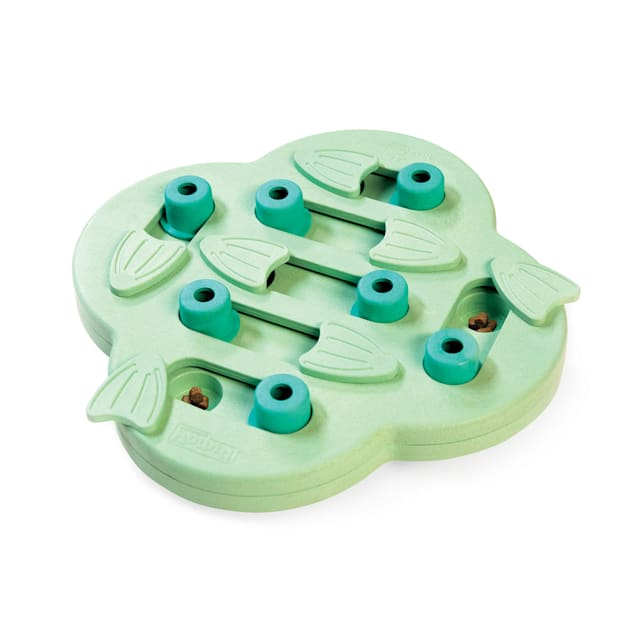 Outward Hound Green Nina Hide N' Slide Puzzle Puppy Toy, Large - Carousel image #1