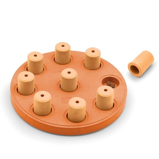 Outward Hound Orange Smart Round Puzzle Dog Toy, Large - Carousel image #1