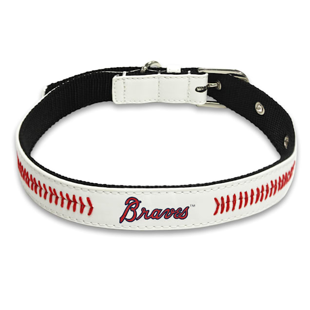 Pets First Atlanta Braves Signature Pro Collar for Dogs, Small - Carousel image #1