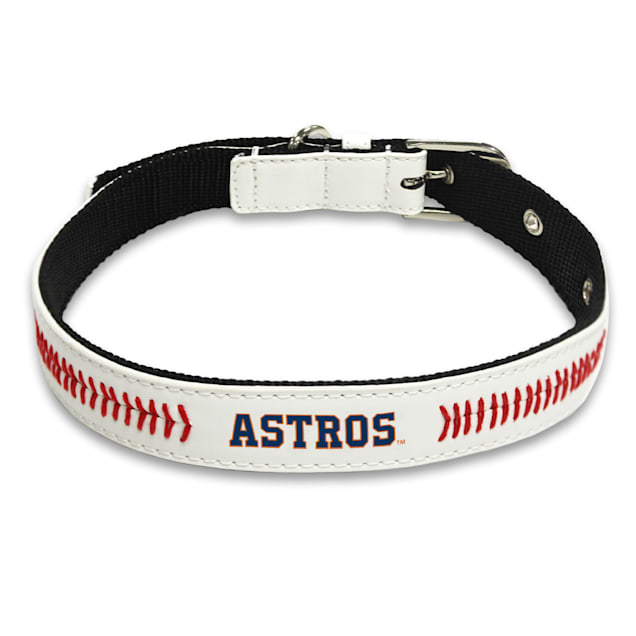Pets First Houston Astros Signature Pro Collar for Dogs, Small - Carousel image #1