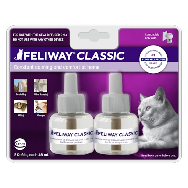 Feliway 30 Day Diffuser Refill for Cats, Pack of 2 - Carousel image #1