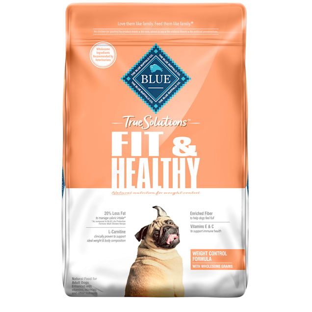 Blue Buffalo True Solutions Fit & Healthy Natural Weight Control Chicken Flavor Adult Dry Dog Food, 24 lbs. - Carousel image #1
