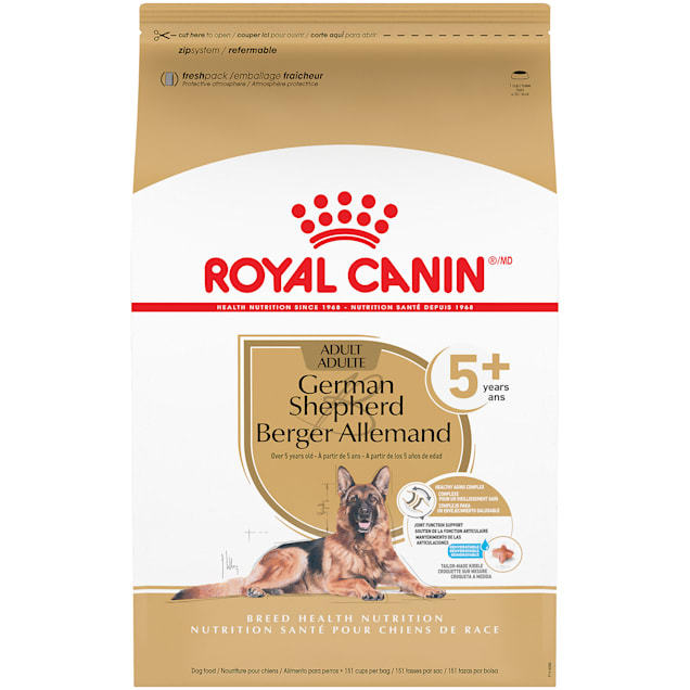 Royal Canin German Shepherd Adult 5+ Dry Food for Aging Dogs, 28 lbs. - Carousel image #1