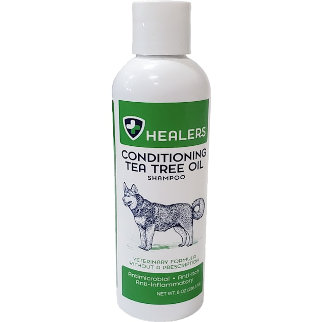 HEALERS Conditioning Tea Tree Oil Shampoo for Pets, 8 fl. oz. - Carousel image #1