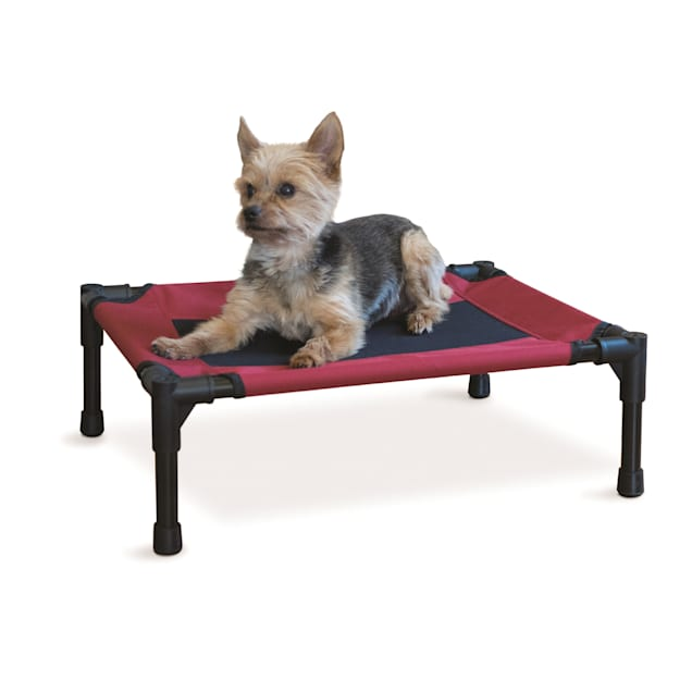 "K&H Elevated Barn Red Pet Bed, 17"" L X 22"" W X 7"" H - Carousel image #1"
