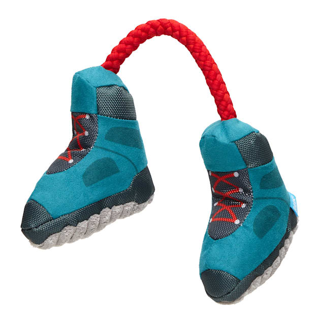 BARK Appalachian Tail Boots Dog Toy, Small - Carousel image #1