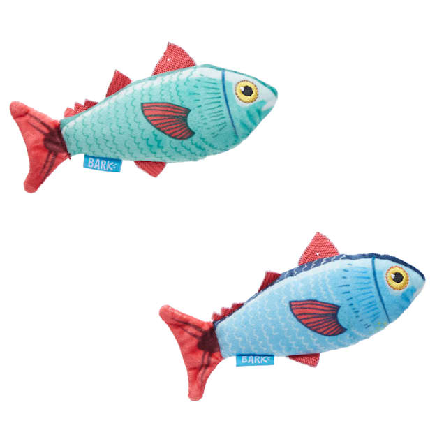 BARK Mike & Mike The Trout Twins Dog Toy, X-Small - Carousel image #1