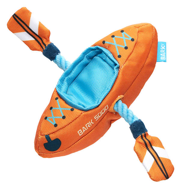 BARK Off-Track Kayak Dog Toy, Medium - Carousel image #1