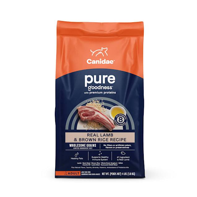 CANIDAE PURE Real Lamb & Brown Rice Recipe Dry Dog Food, 24 lbs. - Carousel image #1