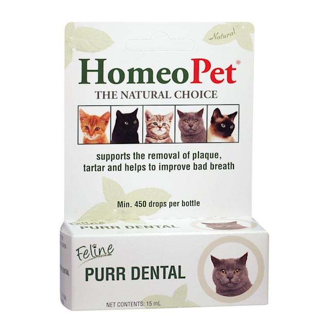HomeoPet Feline Purr Dental for Cats, 0.51 oz. - Carousel image #1