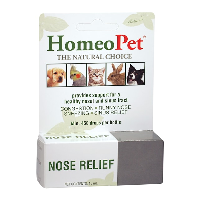 HomeoPet Nose Relief, 0.51 oz. - Carousel image #1
