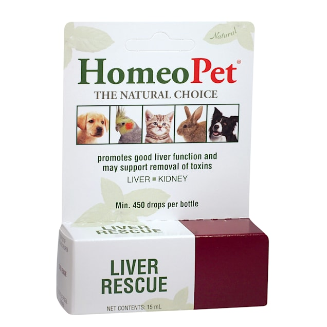 HomeoPet Liver Rescue, 0.51 oz. - Carousel image #1
