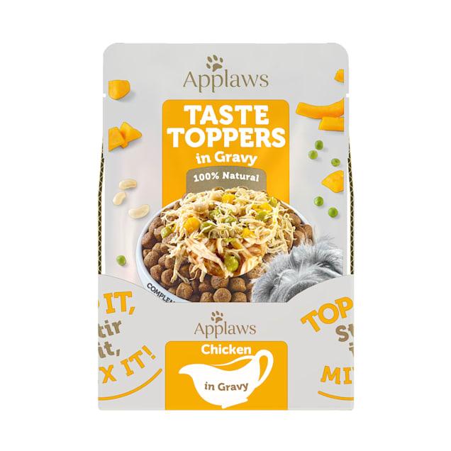 Applaws Taste Toppers Chicken, Peas, Pumpkin & White Bean in Gravy Wet Dog Food, 3 oz. - Carousel image #1